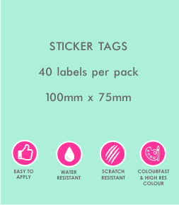 Sticker Tags