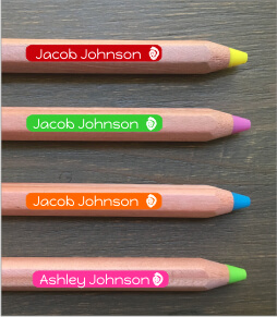 Pencil Labels