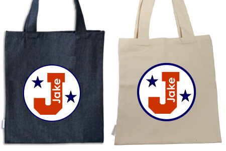 Tote Navy and Red College IRON