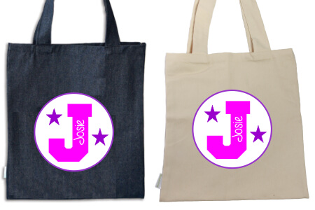 Tote Pink And Purple College IRON